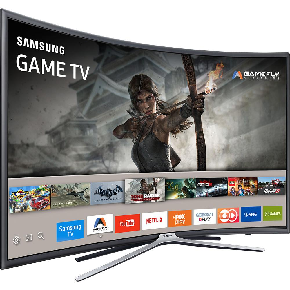 Samsung Tv Curvo Smart Tv De 55 Serie 6 Full Hd
