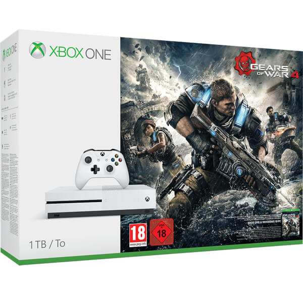 Xbox One S 1TB Gears of War