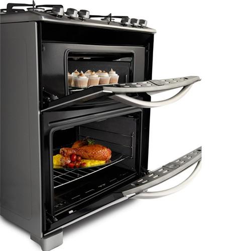 Electrolux cocina doble horno blue touch 76dgx 5 for Cocinas con horno electrico