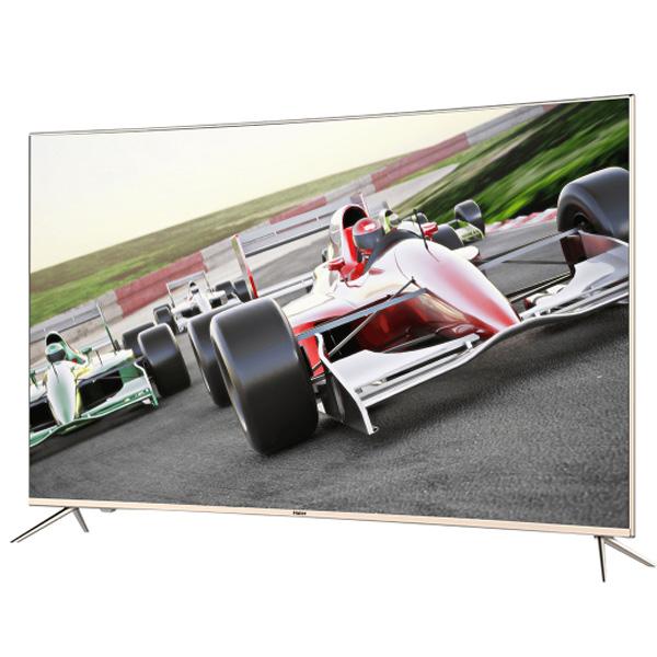 Haier - Android Smart TV Curvo LED de 55″ Ultra HD 4K